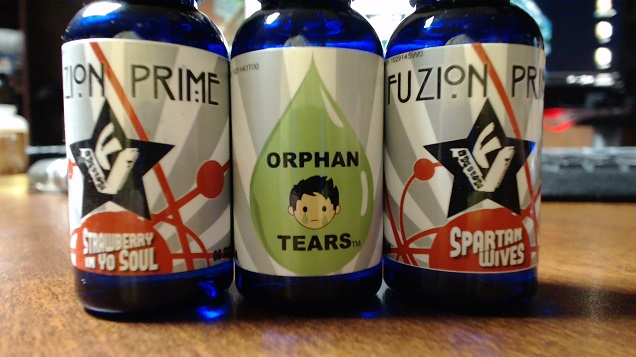 Fuzion Vapors Orphan Tears Best Custard E Juice